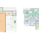 E 1414 SK76B Option 4 Second Floor plan