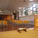 internal view to rear sanctuary
