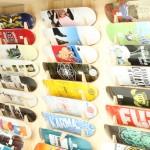 skate board wall
