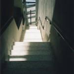 Dorset Gardens stairs