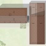 C dwelling roof planas proposed